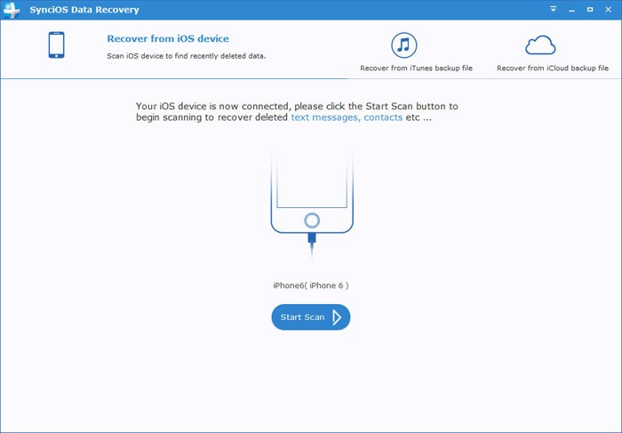 Syncios Data Recovery 1.2.0