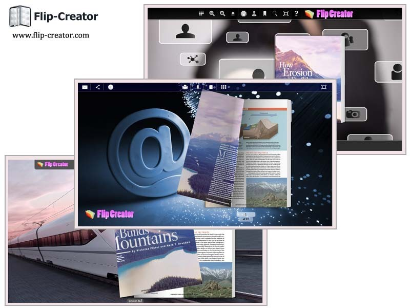Technology Theme for Flash Flip Book 1.0