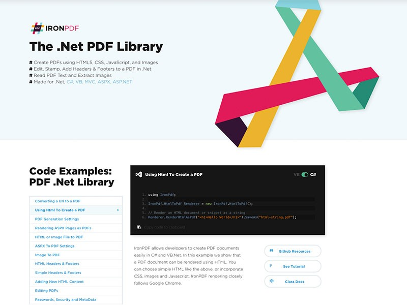 The .Net PDF Library 5.0.5.2