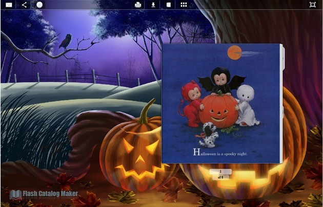 The Second Catalog Templates Halloween 1.0