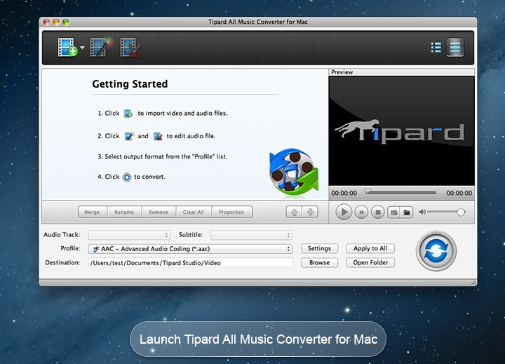 Tipard All Music Converter for Mac 4.0.10