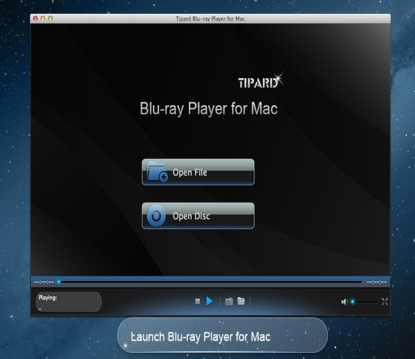Tipard Blu-ray Player for Mac 6.2.88