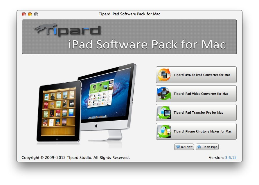 Tipard iPad Software Pack for Mac 4.0.18