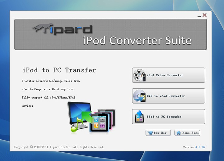 Tipard iPod Converter Suite 6.3.32