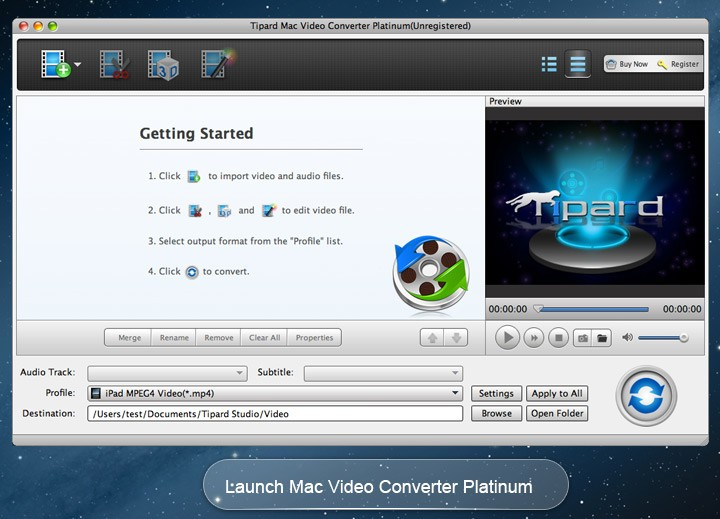 Tipard Mac Video Converter Platinum 3.8.28