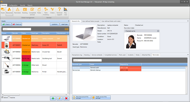Tool and Asset Manager 2.0.6733