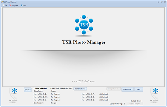 TSR Photo Manager - Free version 1.0.0.127