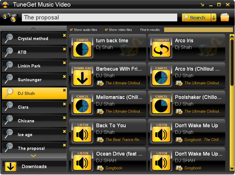 TuneGet Music Video 3.3.8