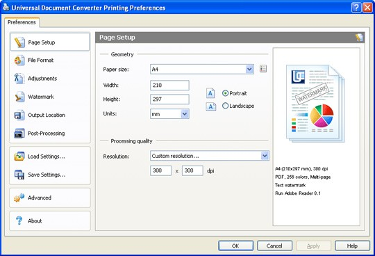 Universal Document Converter 6.7.1611.5140