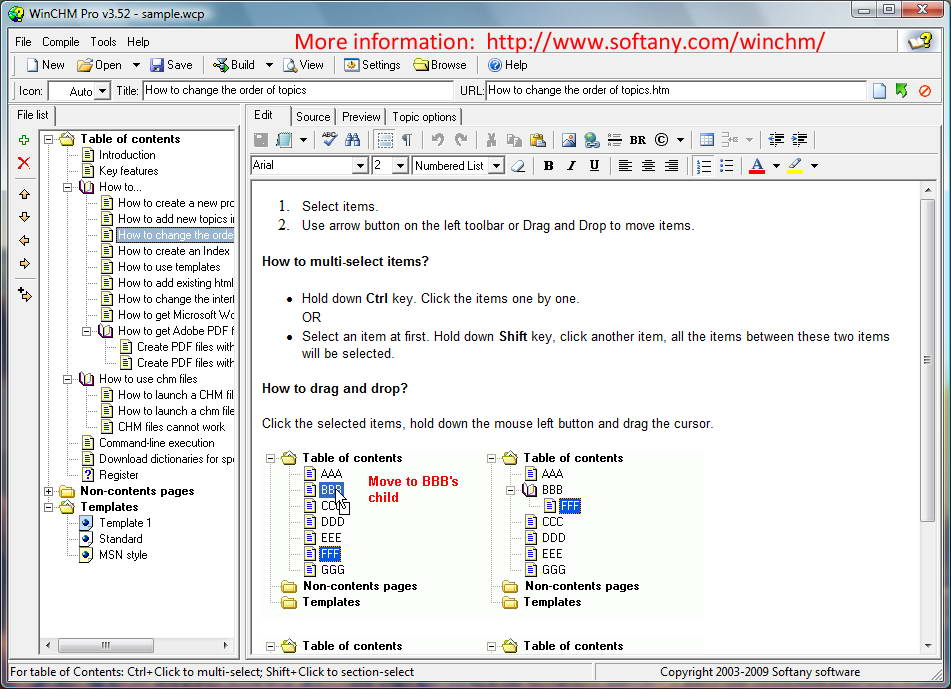 WinCHM - help authoring software 5.18