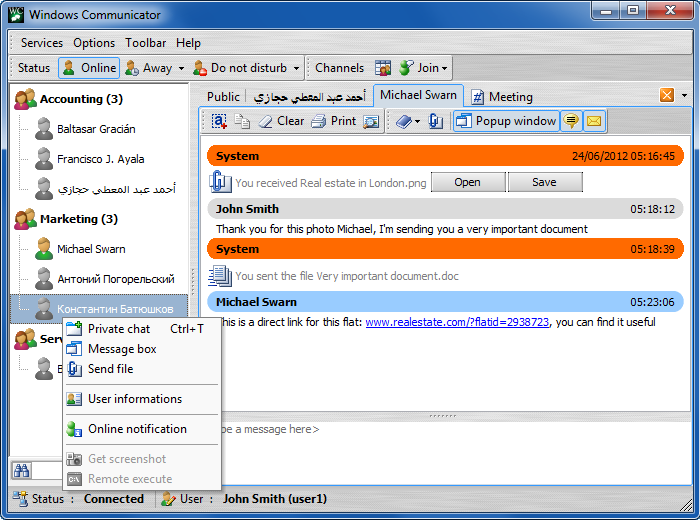 Windows Communicator 3.0