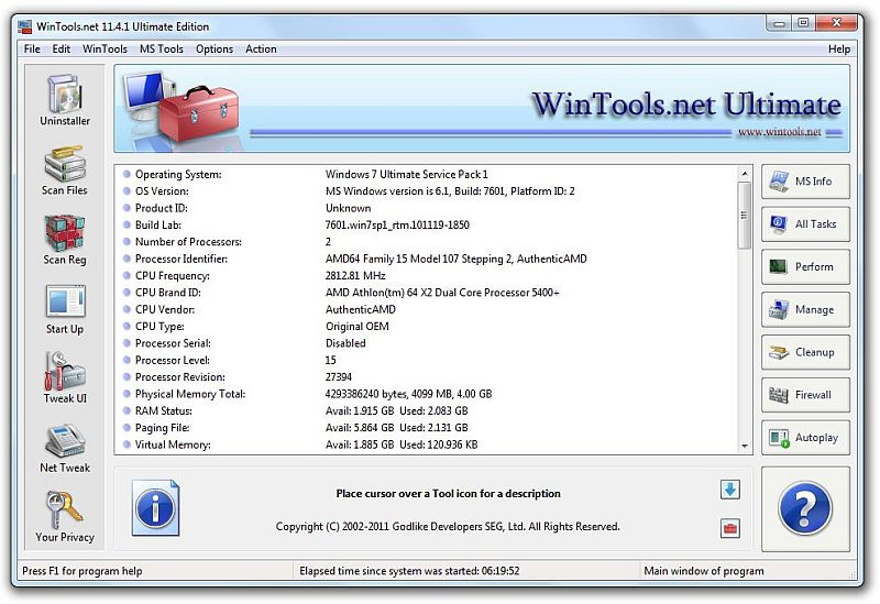 WinTools.net Ultimate 12.1.1