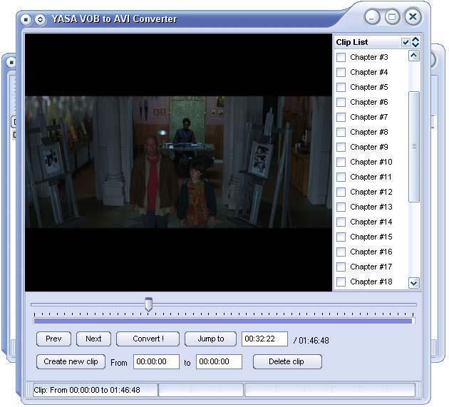 YASA VOB to AVI Converter 3.2.39a 1.0